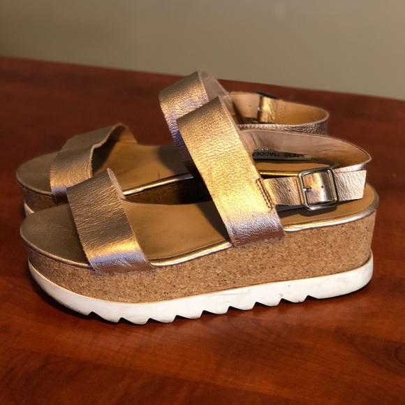 f39d7c4aafe Steve Madden Shoes - Steve Madden- Krista Platform Sandals- Rose Gold